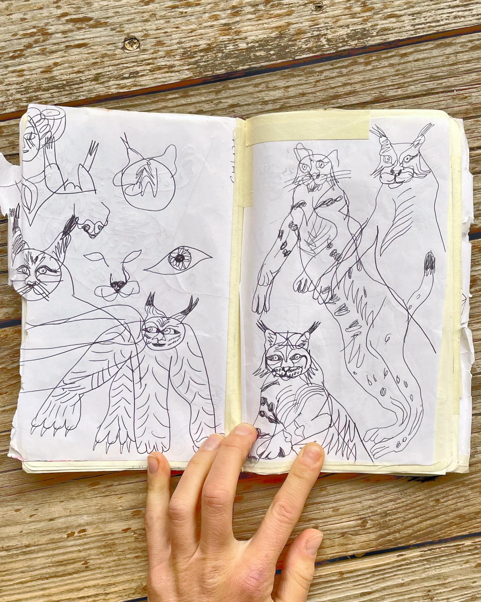 gravgrav: insignia sketches and concept drafts